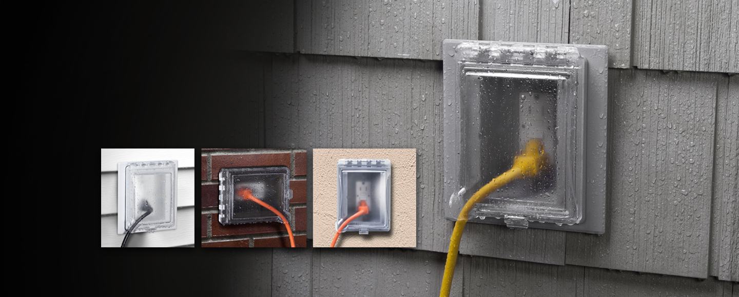 Outdoor Recessed Wall Outlet Enclosure