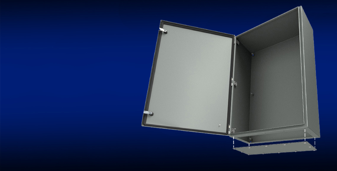 NEW! ULTIMATE® Series Enclosures with Gland Plates